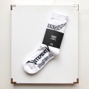 Vetements Reebok Edition Metal Short Socks
